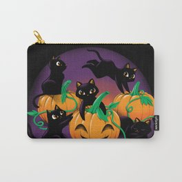 Hello Cat Halloween Carry-All Pouch