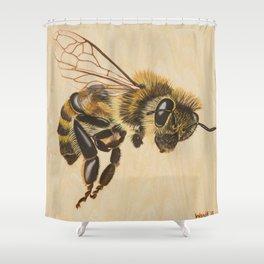 Bee VII (Artemesia) Shower Curtain