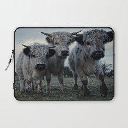 The Three Shaggy Cows Laptop Sleeve