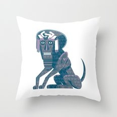 Father Kino's Little Dog Throw Pillow