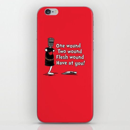 One Wound, Two Wound..... iPhone & iPod Skin