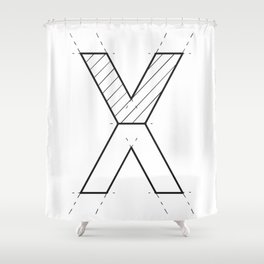 The X Shower Curtain