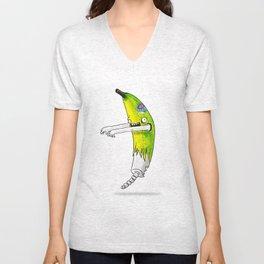 Banana Zombie Unisex V-Neck