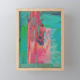 Geothermal Framed Mini Art Print