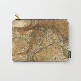 Map of Afghanistan & Pakistan (1842) Carry-All Pouch