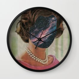 Of Pearls and Stars Wall Clock