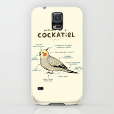 Anatomy of a Cockatiel Galaxy S5 Slim Case