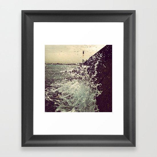 Amorphous Framed Art Print