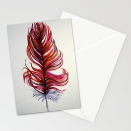 RED FEATHER Stationery Cards