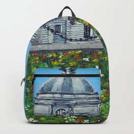 Spring at City Hall, Cardiff Backpack