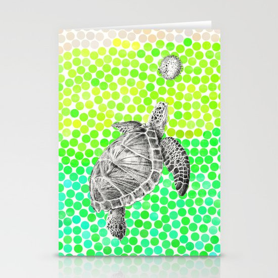 New Friends 1 by Eric Fan and Garima Dhawan Stationery Cards