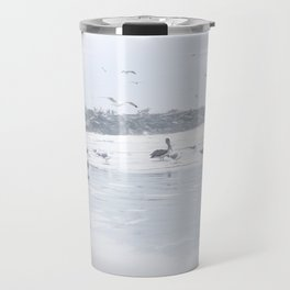 Flock of gulls Travel Mug