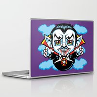 cunt Laptop & iPad Skins featuring Cunt Dracula by harebrained