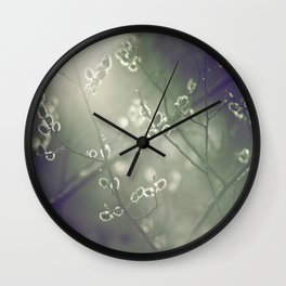 Hazy Light Of Day Wall Clock