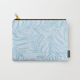 blue soft leaves Carry-All Pouch