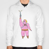 he man Hoodies featuring He-man by Graphic Airlines