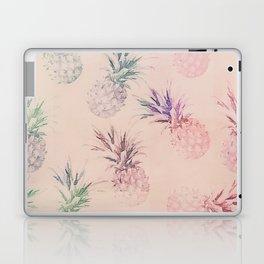 Soft Pastel Pineapple Summe Pattern Laptop & iPad Skin