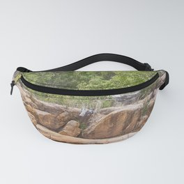 Peace among the rocky surrounds. Fanny Pack