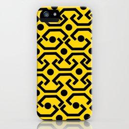 Ethnic Pattern (Yellow) iPhone Case