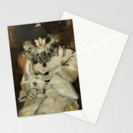 """Pierrot"" by Ambrogio Alciati Stationery Cards"