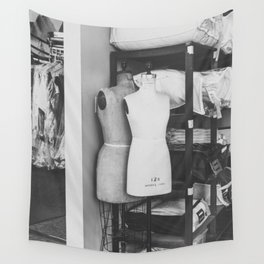 mannequin Wall Tapestry