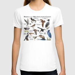 Birds of the Mid-Atlantic Coast T-shirt