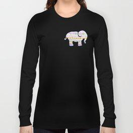 boho elephant Long Sleeve T-shirt