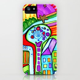 The city of bright colors iPhone Case