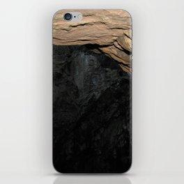 Secret Of The Blue Cave iPhone Skin