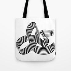 Eye bending Ampersand. Tote Bag