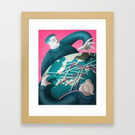 the era of strategic patience is over Framed Art Print