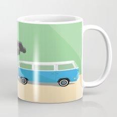Dharma Van vs Smoke Monster Mug