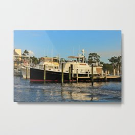 Shoreline in Fort Myers IV Metal Print
