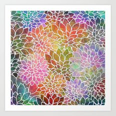 Floral Abstract 6 Art Print