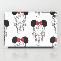 minnie iPad Cases featuring Minnie 1 by Little Moon Dance