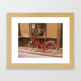 Cykel Framed Art Print
