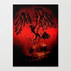SWITCHBLADE VULTURE Canvas Print