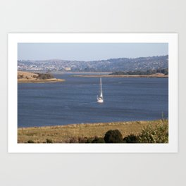 In too Port Launceston - Tasmania - Aus Art Print