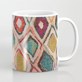 V38 EPIC ANTHROPOLOGIE MOROCCAN CARPET TEXTURE Coffee Mug