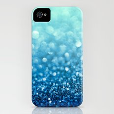 Tell Me True...Ocean Blue iPhone (4, 4s) Slim Case