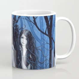 Midnight Travelers Gothic Fairy and Unicorn Coffee Mug