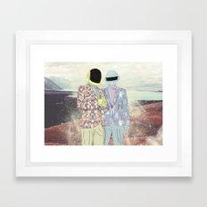 Daft Punk. Framed Art Print