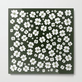 Dogwood Flowers Metal Print