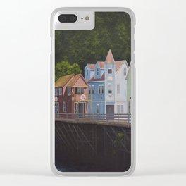 Ketchikan's Creek Street Clear iPhone Case