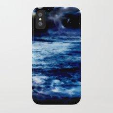 Blue Night Sky iPhone X Slim Case