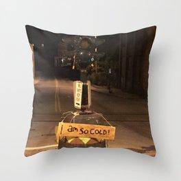 Windows On Main Street 2015 - I Am So Cold Dummy Light Throw Pillow