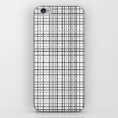 Weave Black and White iPhone & iPod Skin