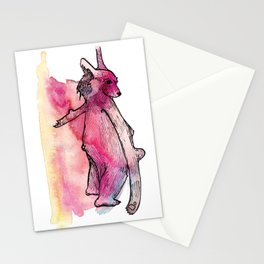 Weird Bear Stationery Cards