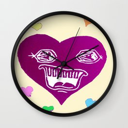 Conversation Starter Wall Clock