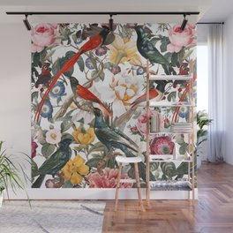 Floral and Birds XXXV Wall Mural